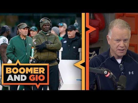 The Jets' Todd Bowles is in the HOT seat | Boomer and Gio