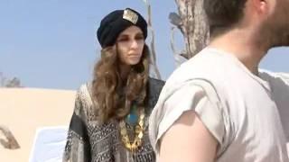 מלכות היופי בקמפיין מדברי של שמן מרוקאי בקיסריה