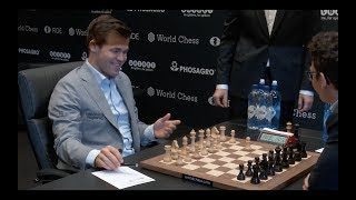 Interviews after day eleven of World Chess Championship 2018