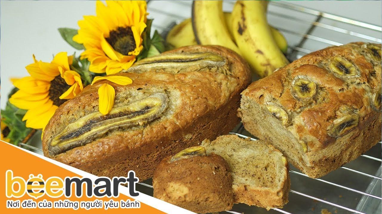 Hướng dẫn cách làm bánh bông lan chuối (Banana sponge cake) – BEEMART