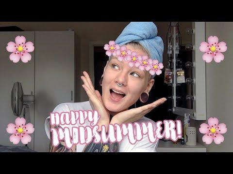 GRWM: Happy Midsummer!