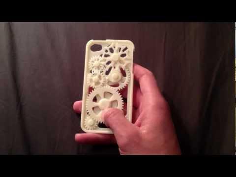 iPhone Gear Case with Geneva Mechanism in Action