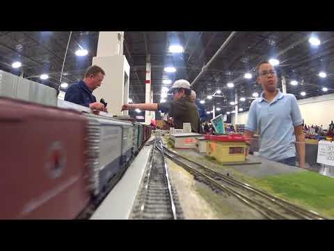 Miami Valley Modular Railroad Cab Ride 2-24-2018