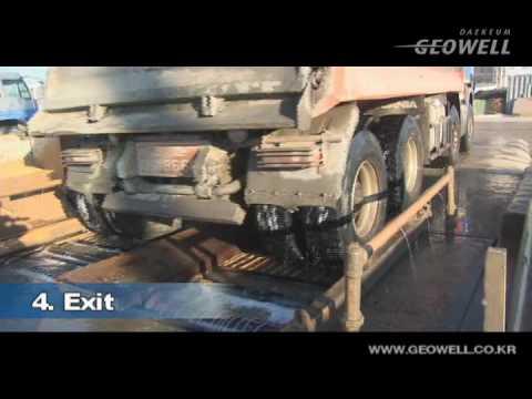 Automatic Wheel Washing System, Truck Washing Solution - GEOWELL WASH