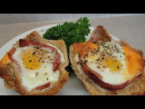 Ham and Egg Breakfast Cups -with yoyomax12