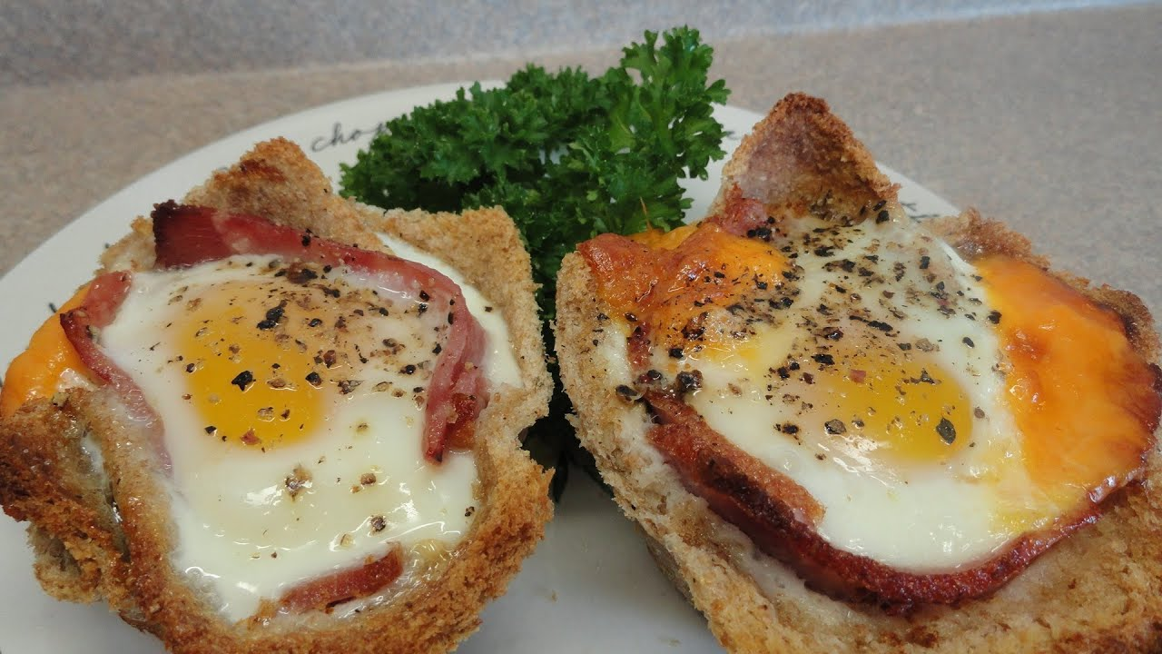 Ham And Egg Breakfast Cups With Yoyomax12