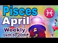 Pisces April2019 INDIRECT COMMUNICATION, NEW OFFER BRINGS BALANCE DIVINE LOVE Tarot Reading