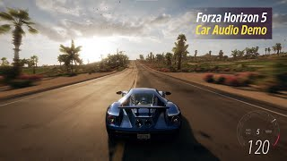 Forza Horizon 5: In-Game Car Audio Preview