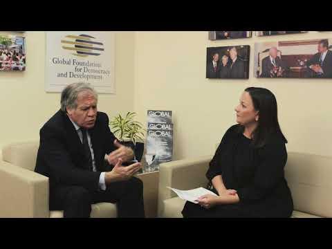 Global Roundtable - GFDD y  el Secretario General de la OEA, Luis Almagro