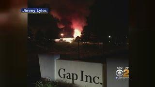 Gap Warehouse Fire In Fishkill