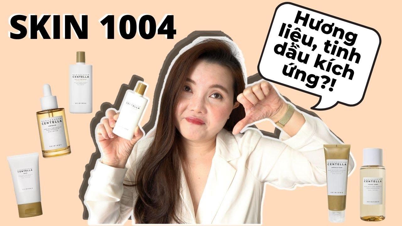 SỰ THẬT Về SKIN1004 - KHÔNG Hề PHÙ HỢP Cho DA NHẠY CẢM Dễ KÍCH ỨNG!!