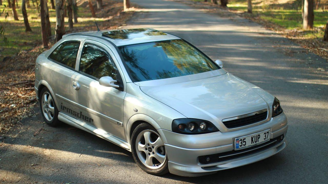 Opel Astra G Test Sürüşü / Irmscher Bodykit - YouTube