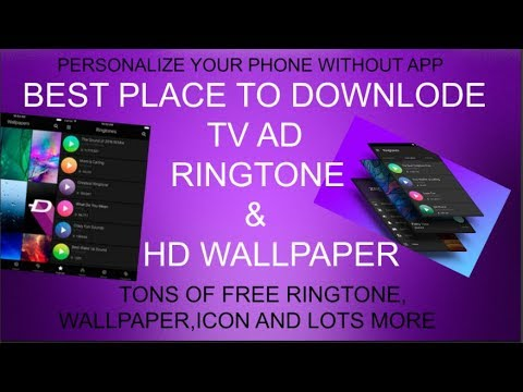 how to downlode tv ad ringtone in a phone or pc