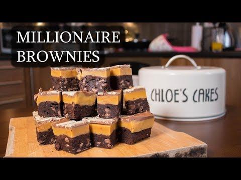 Millionaire Brownies | Chloe's Cakes