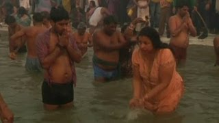 Millions Bathe in Ganges River for Maha Kumbh Mela