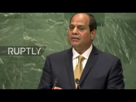 UN: Egypt's Sisi calls on Israel to make peace with Palestinians at UNGA