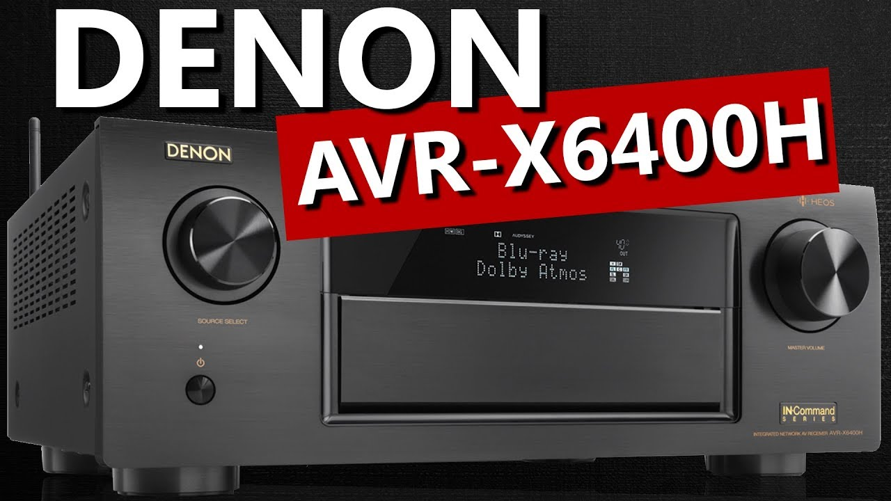 Denon AVR-X6400H 11 2 Channel 4K Receiver with HEOS - Unboxing and Overview