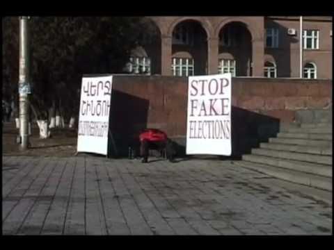 Кандидаты в президенты Армении объявляют голодовку