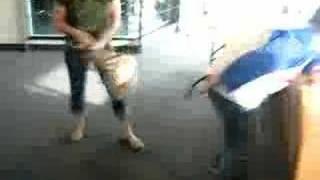 Danielle beats down Greg T with a purse