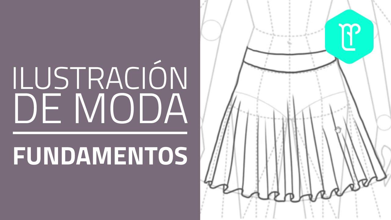 Cómo Dibujar Faldas Paso A Paso Youtube