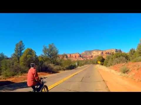 Trip to Enchantment Resort on EBike in Sedona Arizona