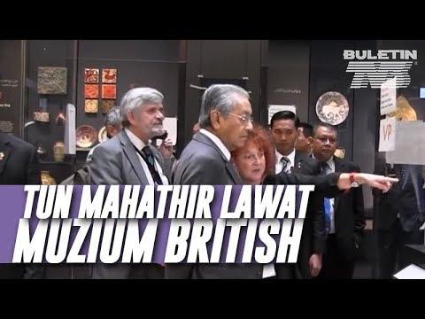 PM saksikan koleksi dunia Islam Muzium British