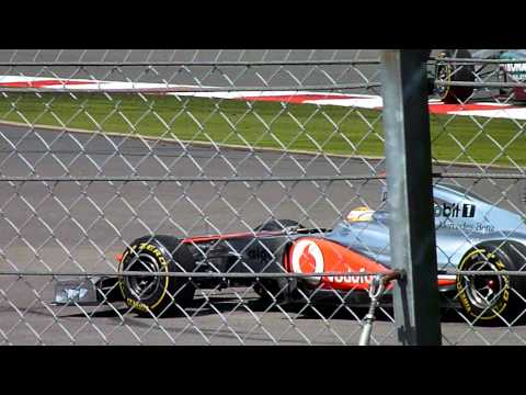 Hamilton Donuts!  2011 British Grand Prix