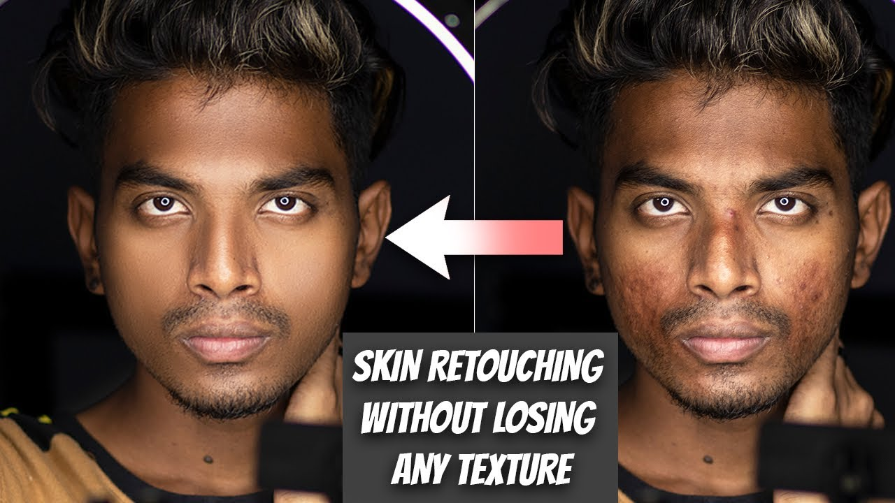 HIGH END SKIN RETOUCHING WITHOUT LOSING ANY TEXTURE TUTORIAL   PRANAV PG