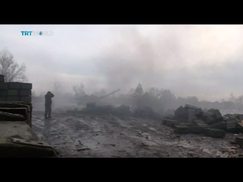 Ukraine Conflict: Fighting flares as Kremlin and Kiev trade blame