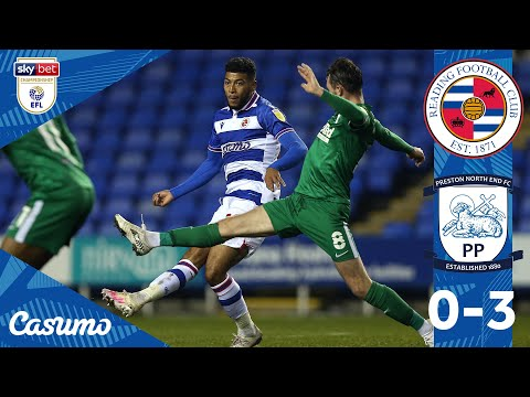 Reading Preston Goals And Highlights