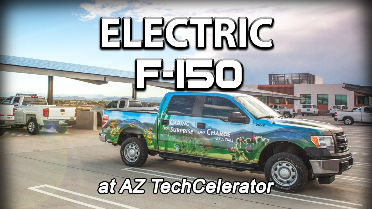 Electric Truck Conversion Kit For A Fleet Car Done By Torque Trends On F 150