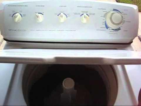 fridgidaire gallery washing machine