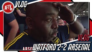 Two Nil And We F*ck*d It Up!!! | AFTV Watford vs Arsenal VLOG