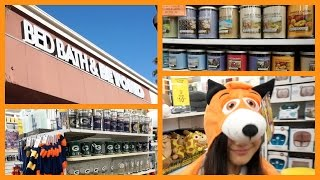 Vlog : Let's go shopping at Bed Bath and Beyond - 미국일상, 쇼핑 같이가요.