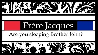 Frere Jacques | Are you sleeping Brother John? Instrumental music