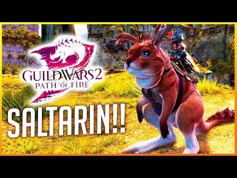 GUILD WARS 2: ¡CONSIGUIENDO EL SALTARÍN! | PATH OF FIRE | Makina