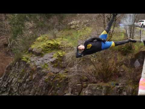Jones Creek Jamming - Oregon Cliff Jumping