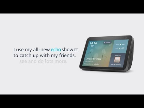 Meet the all-new Echo Show 8 | Amazon Alexa
