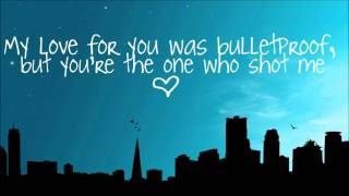 Repeat youtube video Bulletproof Love-Pierce The Veil Lyrics (Full Song)