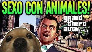 GTA 5 ZOOFILIA!!! SEXO CON ANIMALES DENTRO DE GTA V EASTER EGG RARISIMOOOOO