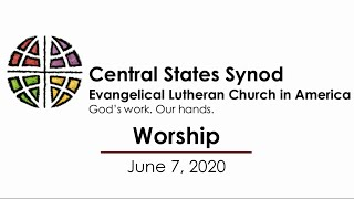 Worship June 7, 2020