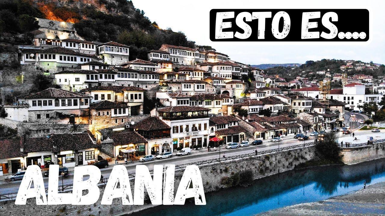 La CIUDAD MÁS BONITA de ALBANIA   Berat