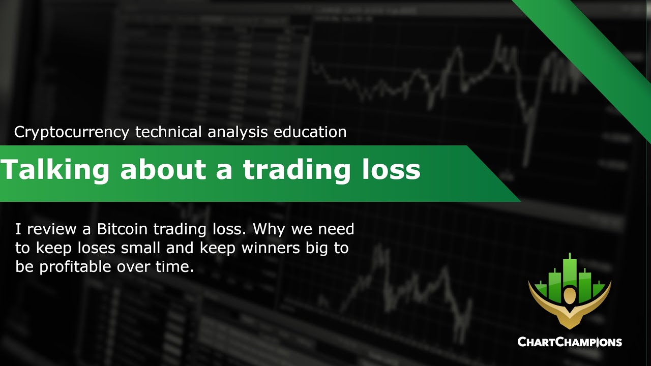 Taking a BTC trading loss!! Bitcoin Technical Analysis.