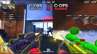 Uratio & Awp Montage - Critical ops V/s Reloaded - Which one is Best..