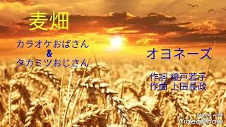 オヨネーズ「麦畑」カラオケおばさんと コラボしました(*^^*) カラオケ...