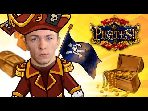 Прохождение игры u0022Sid Meieru0027s Piratesu0022 #1 Начало игры