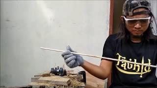 Video cara membuat shaft anak panah bambu download MP3, 3GP, MP4, WEBM, AVI, FLV Juni 2018