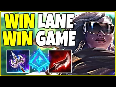 HOW TO DOMINATE LANE AS SENNA SUPPORT - League of Legends