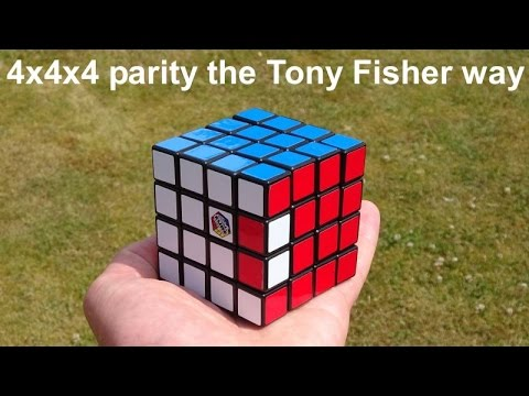 How I Cracked 4x4x4 Edge Parity (from My Rubik's Master Cube Puzzle Solution)