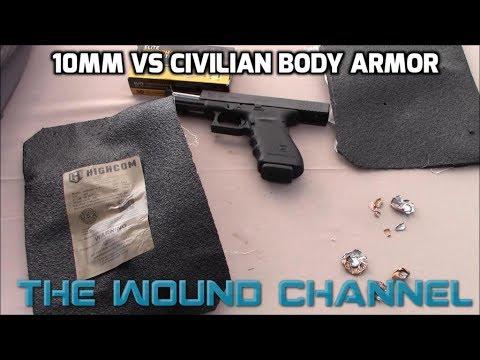 10mm vs Civilian Body Armor